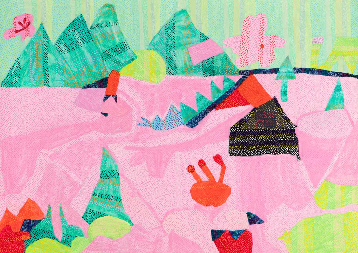 「山桜」有田 京子